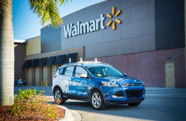 Ford and Walmart join for driverless delivery pilot in Miami