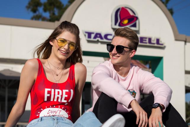 Taco Bell and Forever 21 Team Up for Latest in Food Fashion