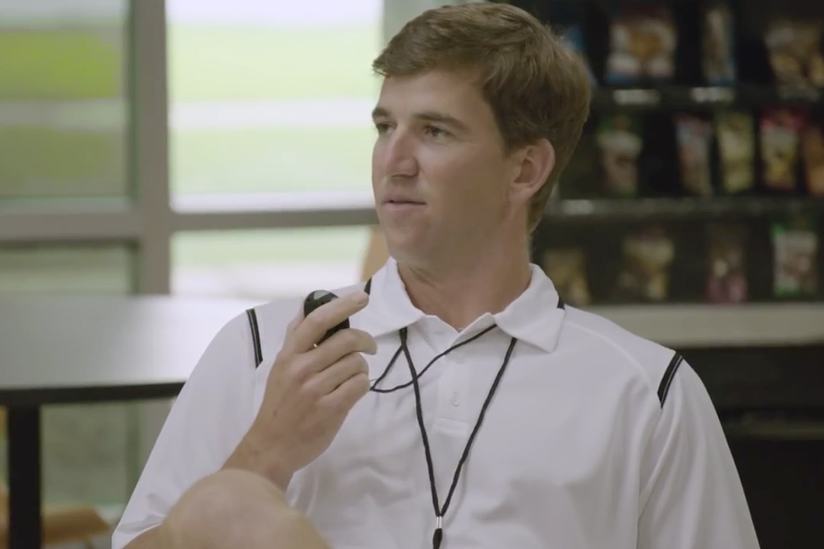 Sweat It to Get It Feat. Peyton and Eli Manning