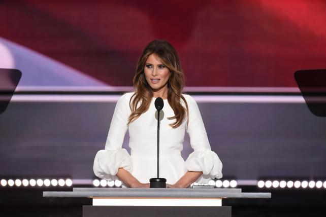 Life Before #FamousMelaniaTrumpQuotes: RNC Diary, Day 1