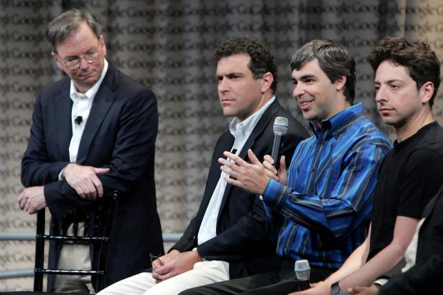 Larry Page and Sergey Brin No Longer Need 'Adult Supervision'