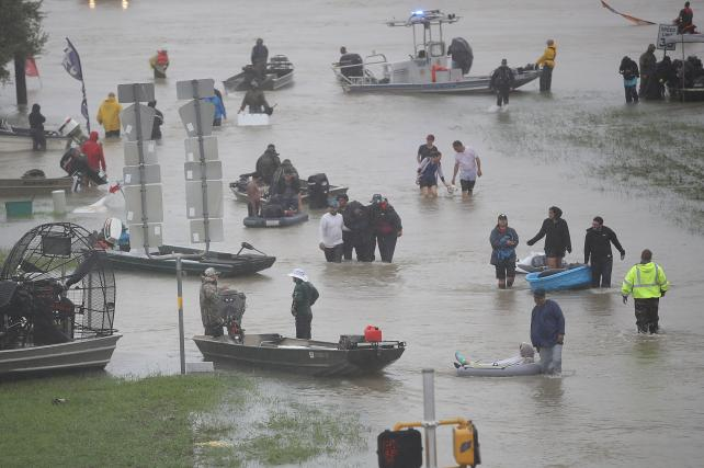 Houston Agencies Cope with Harvey: 'Pray for Our City'
