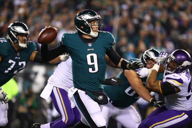Blowouts, No-Name QBs Send NFL Playoff Ratings Down 14%