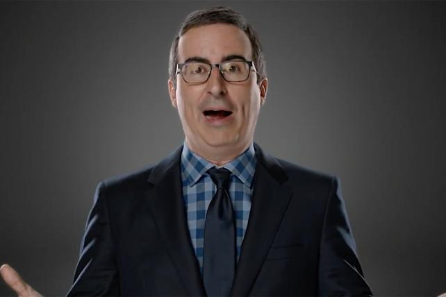 John Oliver Rants About HBO's New Brand Campaign, and Then the Campaign Devours Him