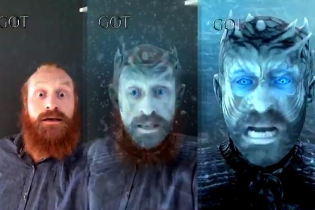 Filters Are Coming Facebook Gets A Game Of Thrones Mask Ad Age