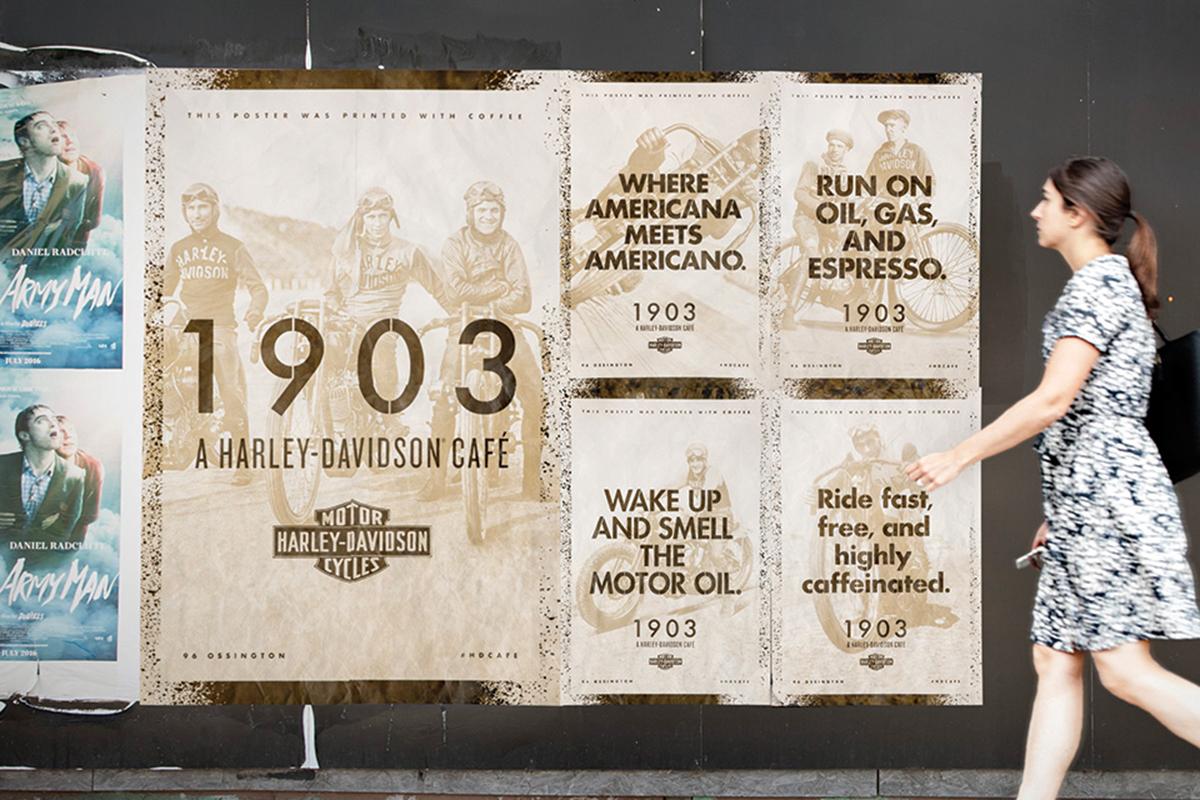 Harley-Davidson 1903 Cafe