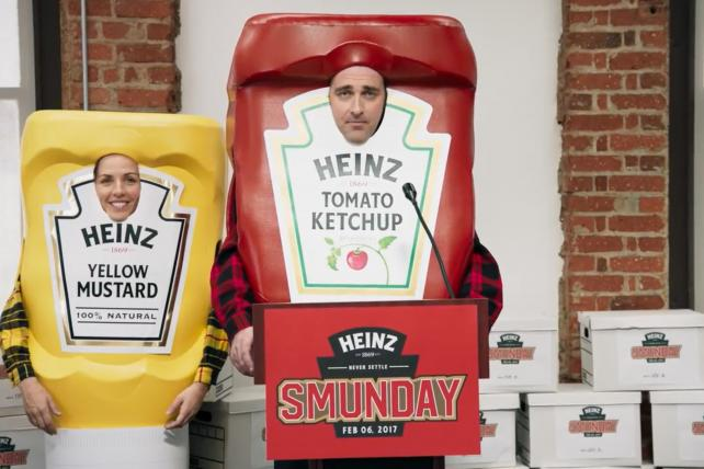 Heinz Plays Up 'Smunday' While Skipping Super Bowl