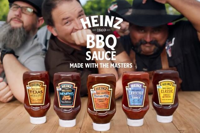Heinz Aims to Heat Up the Barbecue Sauce Category