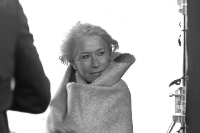 Lowdown: Helen Mirren Hops on No Makeup Trend