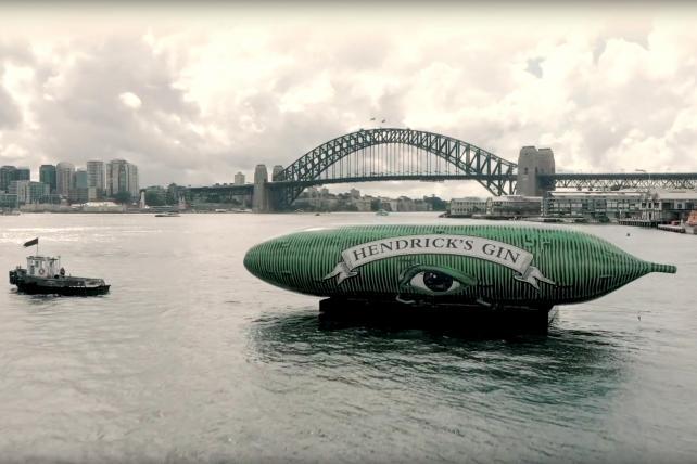 Hendrick's Gin's giant cucumber stunt sinks: Marketer's Brief