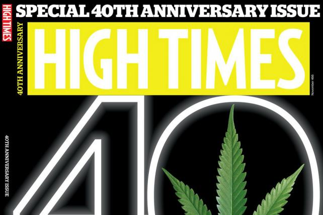 High Times Magazine Turns 40, Hungry for Doritos and Pepsi Advertising