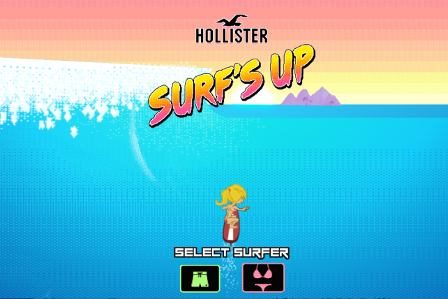 Hollister Targets Teens Where They Live: Their Phones