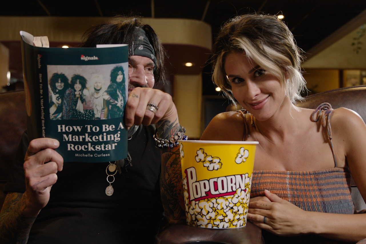 Mötley Crüe's Tommy Lee and Brittany Furlan on how to be a marketing rock star