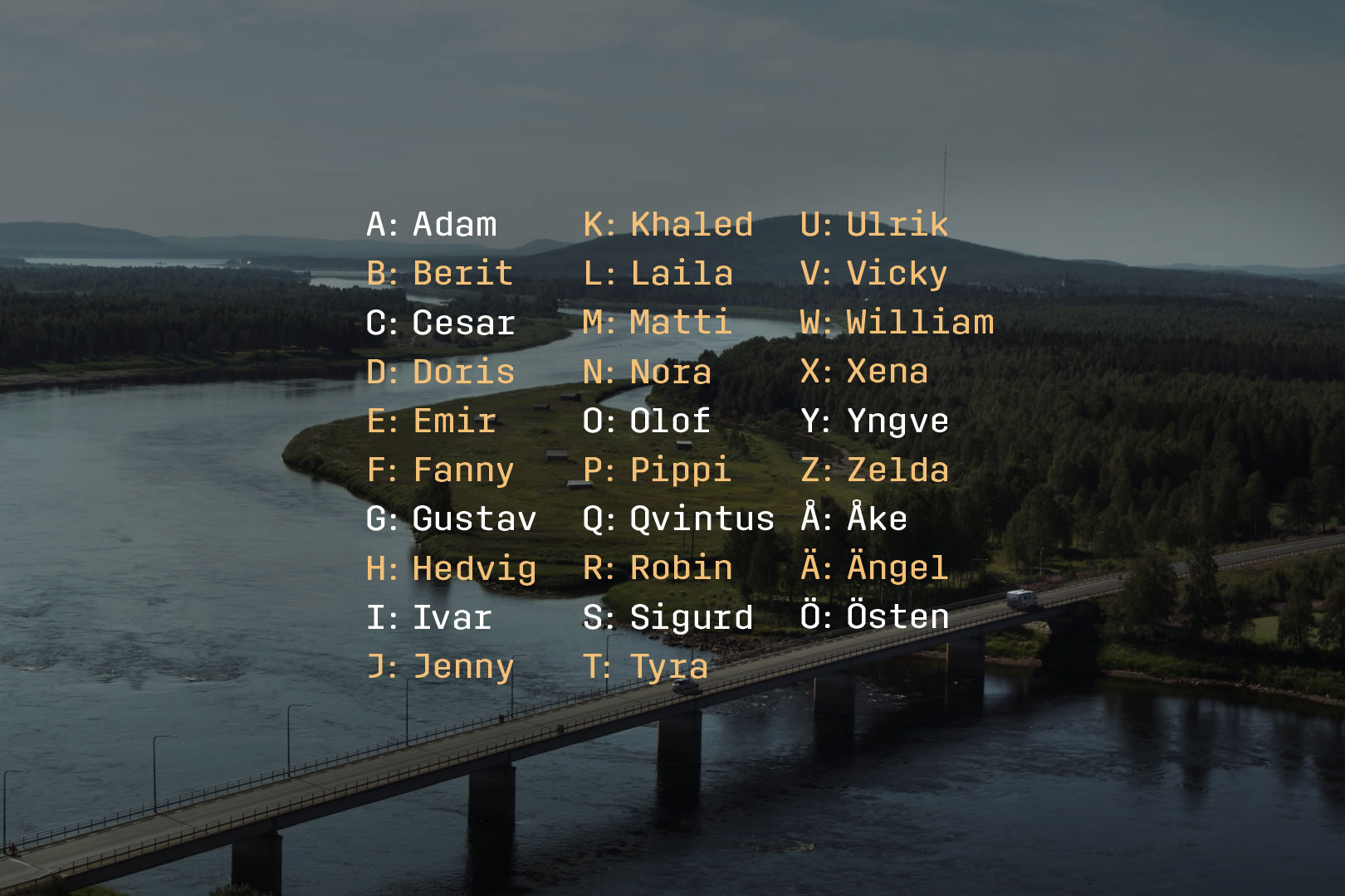 This campaign to shake up the Swedish spelling alphabet sparked a gender equality debate