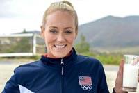Team U.S.A. Athletes Switch Sports in New Milk Life Spots