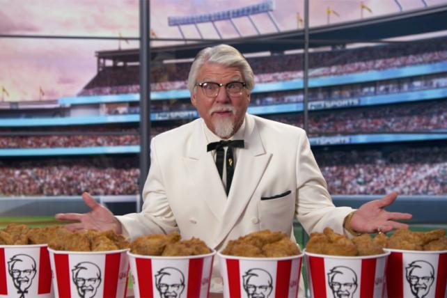 Yes, Another New Colonel Sanders, This Time With Hairspray