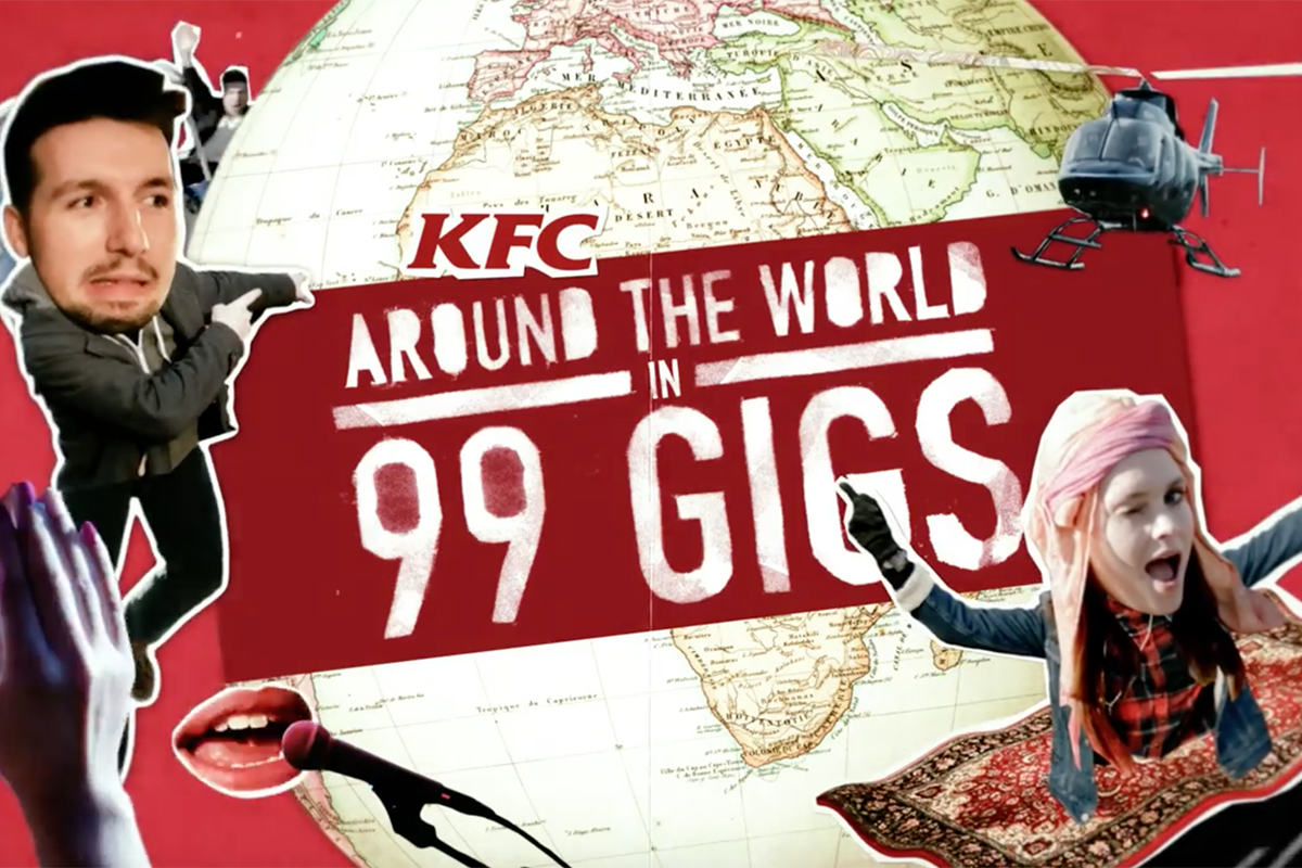 Around the World in 99 Gigs