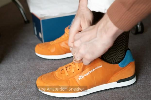 KLM Has Designed a Sneaker  Optimized  for Amsterdam  c1636b3e3dc3