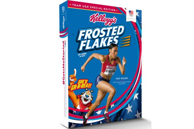 Kellogg's Focuses on What Gets You Started in Olympics Push