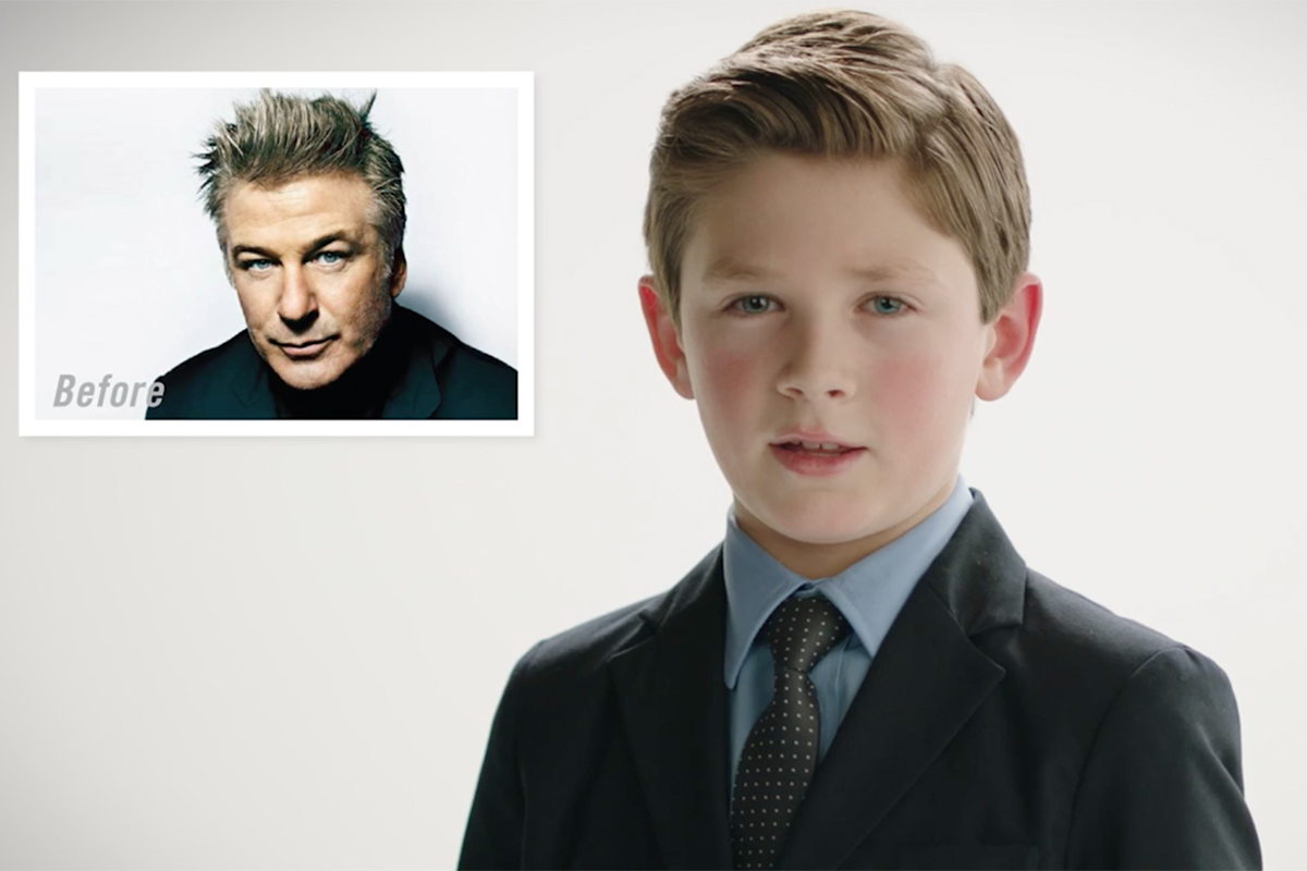 Reverse Aging Celebrities - Alec Baldwin