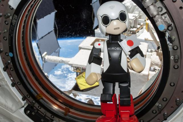 Dentsu and Toyota's Cute Robotic Astronaut Just Returned From Outer Space