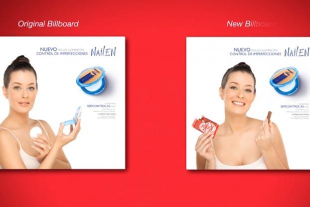 Kitkat Print Ads - The Power of Advertisement
