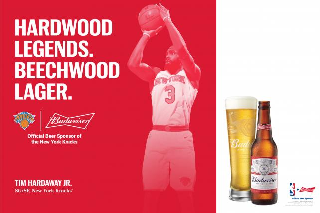 AB InBev strikes deals to put more sports pros in beer ads