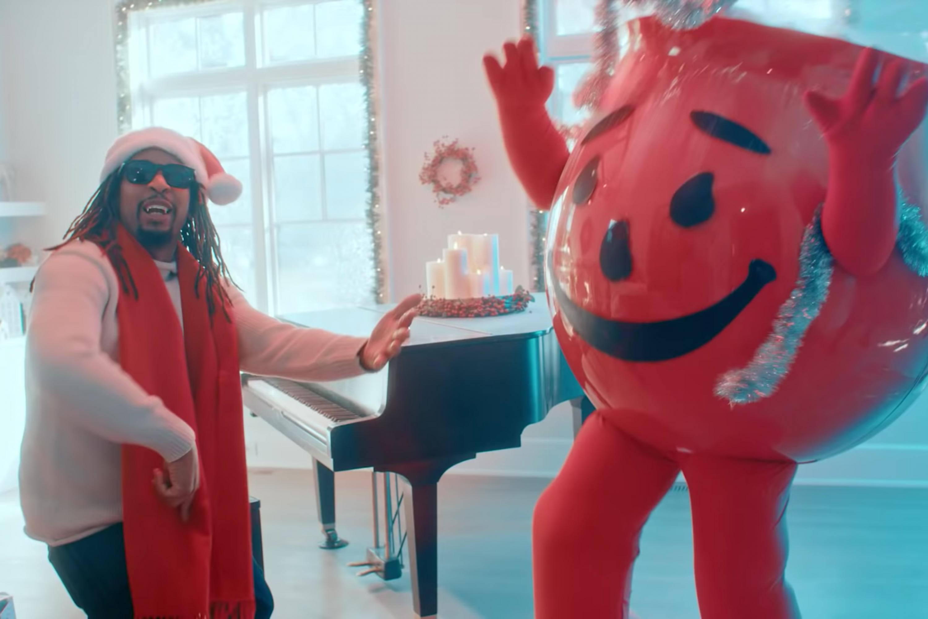 Lil Jon And The Kool Aid Man Bust Walls In A Holiday Rap Duet Adage