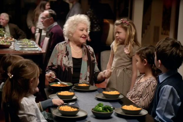 kraft mac and cheese commercial grandma