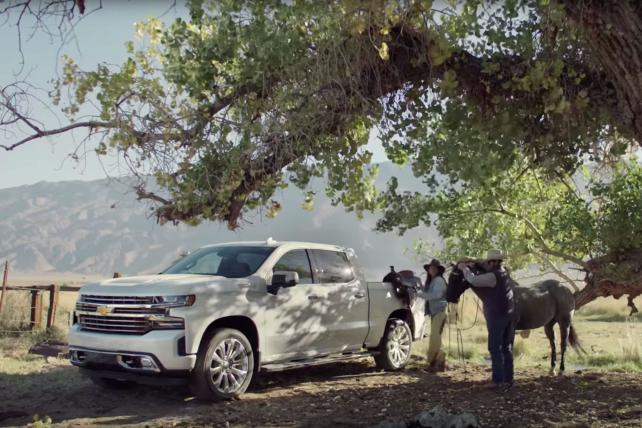 Chevy skips 'Real People' approach for  Silverado campaign