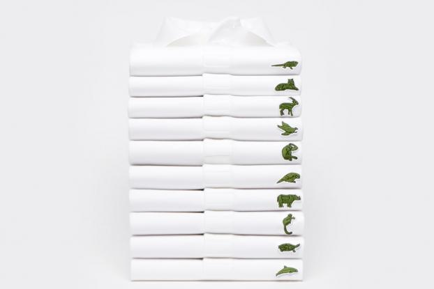 8680a2702b517 Best of 2018 Print OOH Design No.3  Lacoste Replaces Its Crocodile With  Endangered Species in Limited-Edition Polo Shirt Line