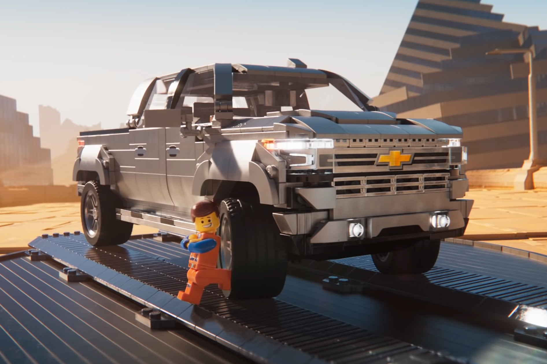 Chevy has product placement deal with new Lego movie