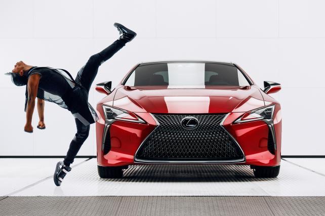 See Lexus' Super Bowl ad