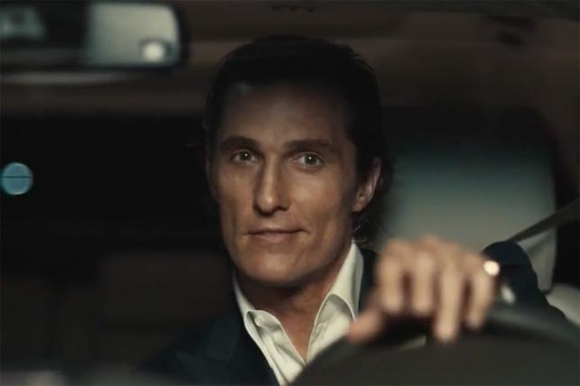 McConaughey Goes Silent in New Lincoln Ads