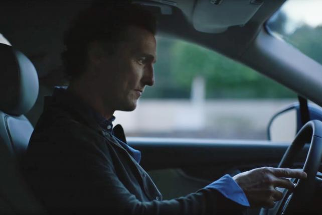 McConaughey's newest Lincoln spot uses a cue ball as a prop