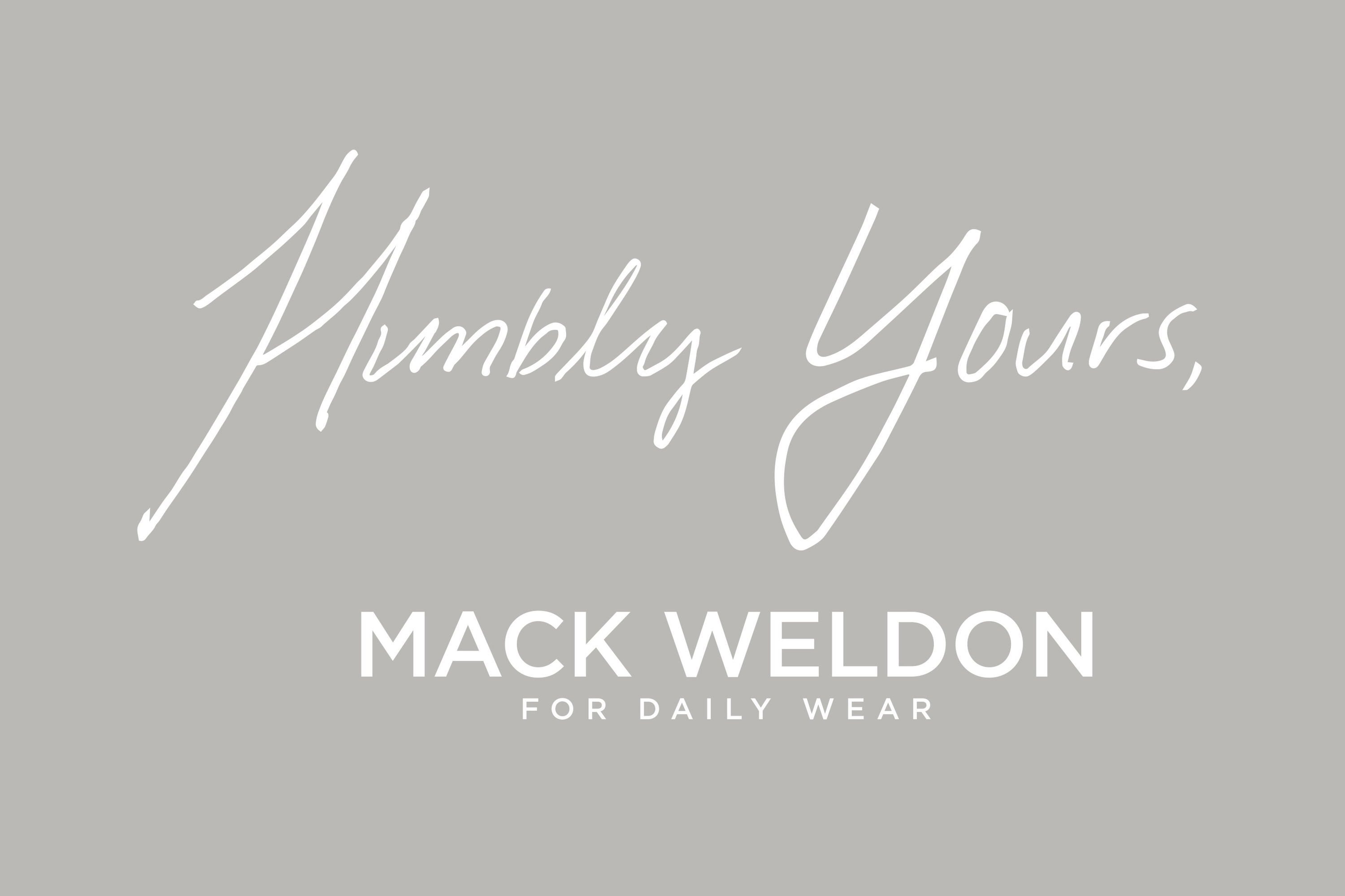 Mack Weldon: Humbly Yours