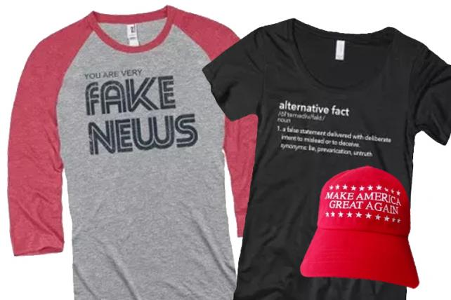 Newseum comes under fire for selling MAGA merch
