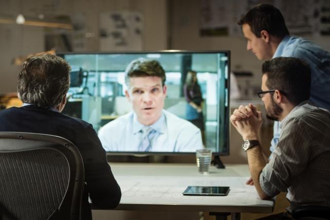 Men speak 92 percent of the time on company earnings calls