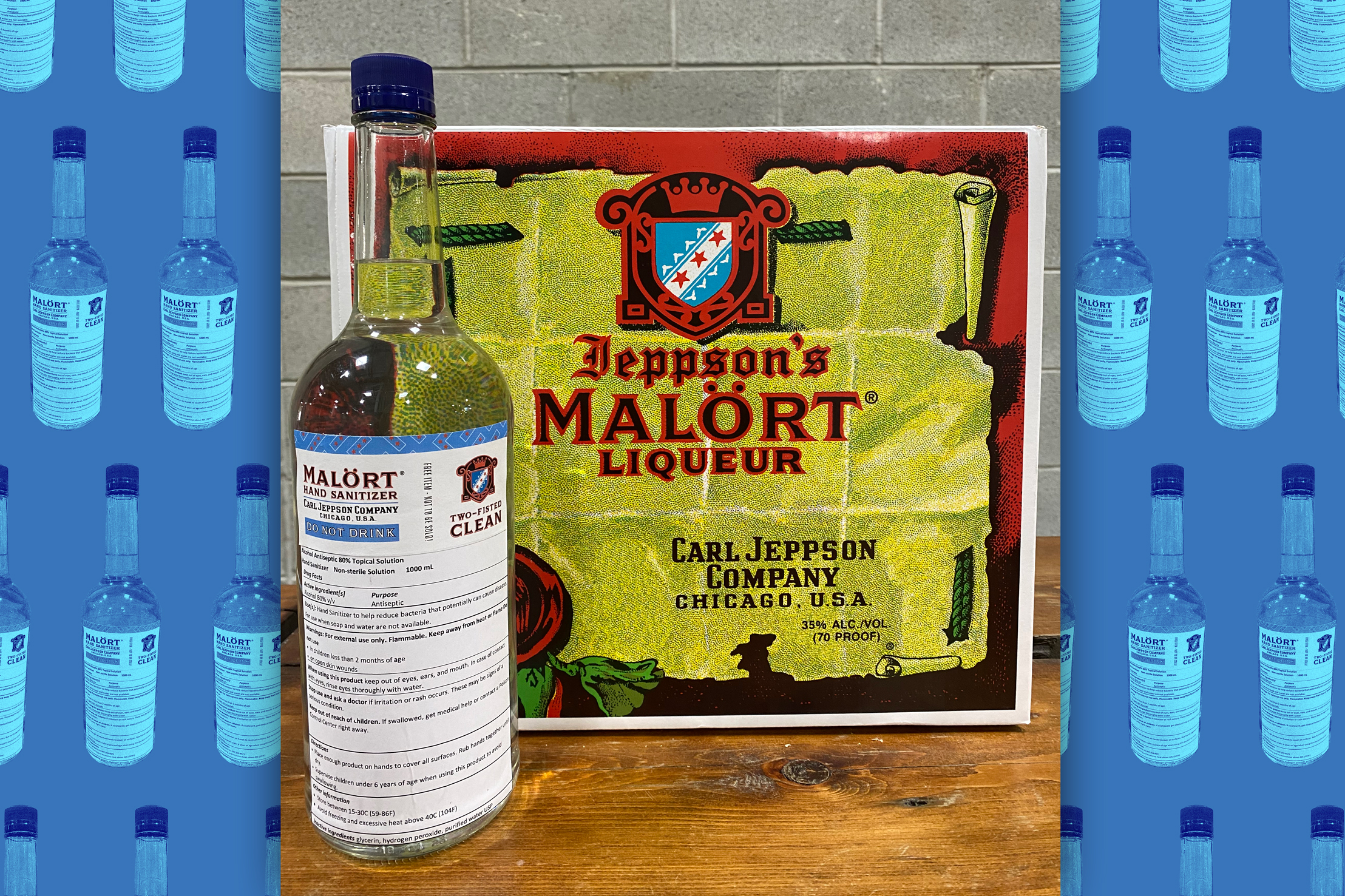 How Malört—a taste bud-killing classic Chicago shot drink—got into the hand sanitizer business
