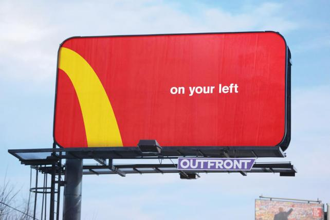 McDonald's, Comedy Central campaigns take Outdoor Grand Prix