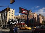 Meetup Tweaks Consumerism With New Manhattan Billboard