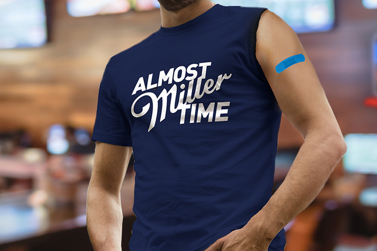 Free Budweisers for the vaccinated and 'Vax Tee' from Miller Lite: Trending
