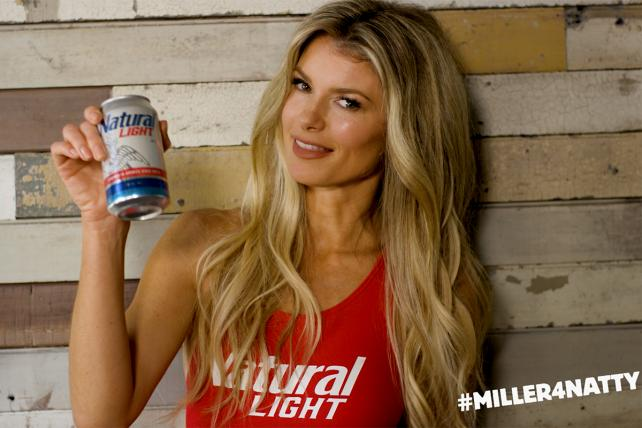 AB InBev Answers MillerCoors Attacks With Supermodel Marisa Miller
