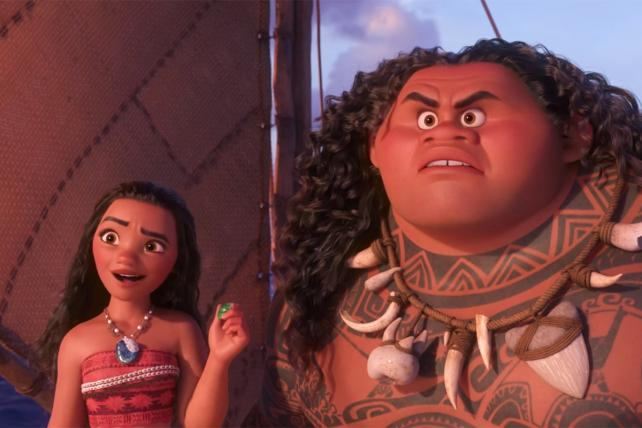 Disney's 'Moana' Tops Thanksgiving Box Office
