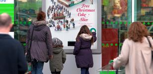 Christmas Cake Poster 2