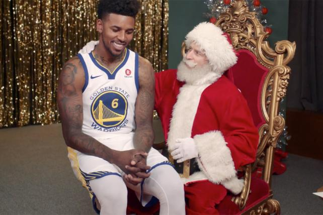 ESPN, Santa Claus Spin Christmas as the Official Holiday of the NBA
