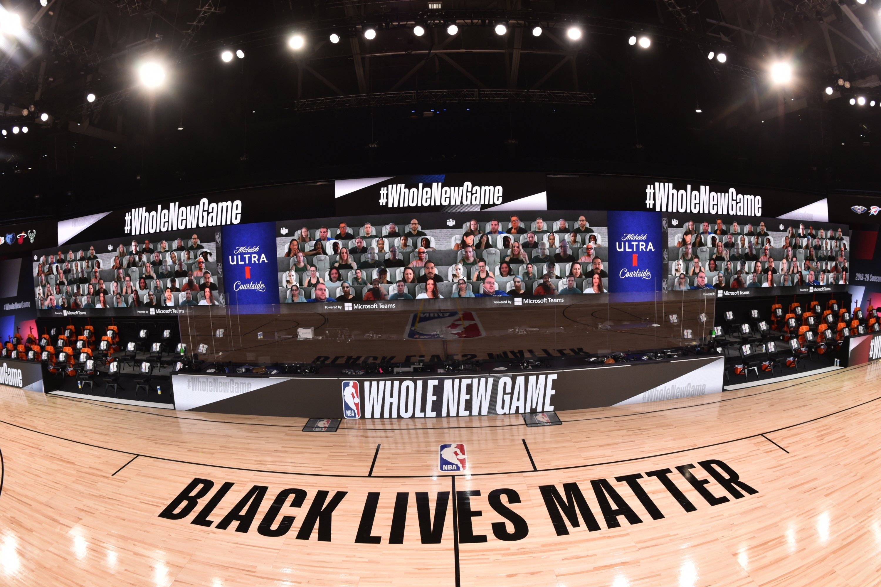 Behind the NBA's futuristic plans to replace in-person fans with virtual technology for Orlando restart