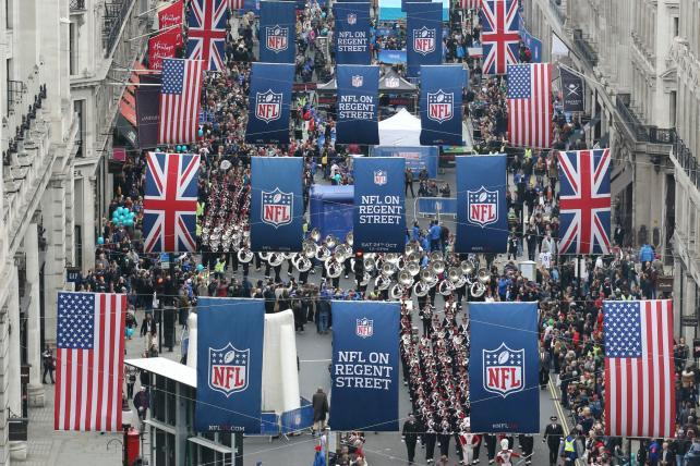NFL Ramps Up U.K. Marketing as It Seeks Mainstream Audience Beyond U.S.