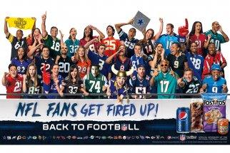 Pepsi's NFL Sponsorship To Star All 32 Teams