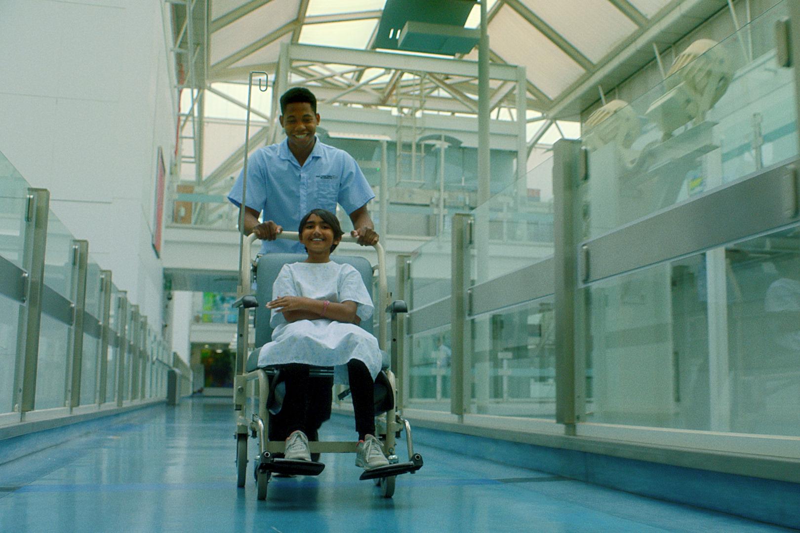 NHS: Men in nursing